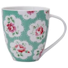 Design Mug by Cath Kidston Provence Green Crush Design Mug Buy Cath Kidston