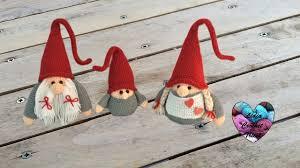 Gnome Ornament Christmas Gnome De Noël Amigurumi Crochet Maman Christmas Mother Gnome