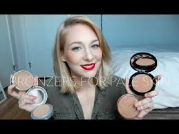 best bronzer for light skin top 5 bronzers for pale skin current favs youtube