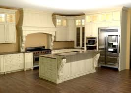 kitchen island corbels large kitchen with custom features large enkeboll corbels on