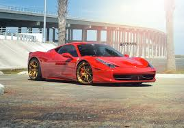 Ferrari 458 Italia - ferrari 458 italia sm5r deep concave monoblock strasse wheels
