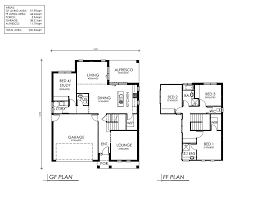 100 floor plans for a two story house d two storey house