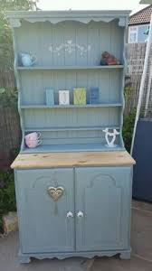 lovely shabby chic pine farmhouse welsh dresser painted annie