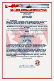 bureau immigration canada canada work permit visa offer for or others