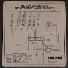 sno way plow diagram wiring sno wiring diagrams collection