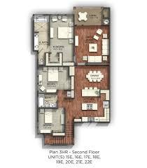 3 Bedroom Condo Floor Plan by Wailele Ridge Floor Plans