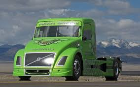 volvo big rig mean green machine 2000 hp volvo diesel hybrid truck truck