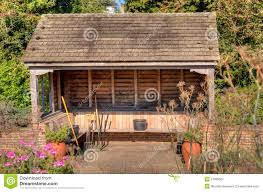 garden tool in shelter royalty free stock photography image