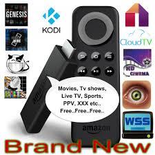 copy of amazon fire tv stick jailbroken fully loaded with kodi