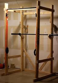 Diy Wood Rack Plans by Build Your Own Power Rack End Of Three Fitness