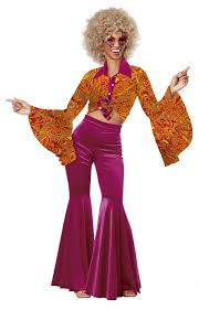 costumes women women s funky disco costume candy apple costumes