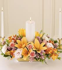 candle arrangements infinite unity candle centerpiece royal fleur florist
