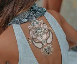 9 extraordinary metallic tattoos styles at life