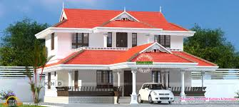 Home Design Kerala Model 2145 Square Feet Typical Kerala Model Sloped Roof Home Kerala