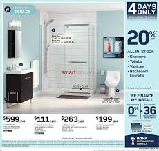 Rona Glass Shower Doors by Rona Atlantic Flyer August 11 To 17