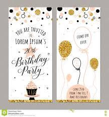 Minions Invitation Card Vector Illustration Of Birthday Invitation Face And Back Sides