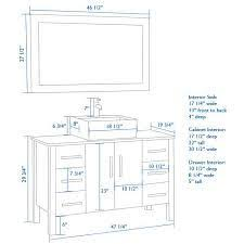 Bathroom Countertop Height Best 25 Vessel Sink Vanity Ideas On Pinterest Small Vessel
