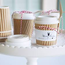 hot cocoa wedding favors mini hot cocoa cups gift idea the tomkat studio
