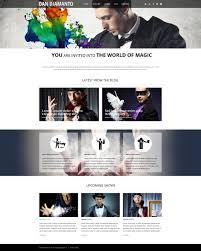the world of magic wordpress theme 50532
