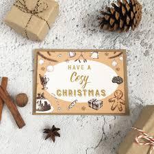 card pack card merry vintage
