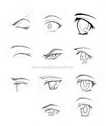 12 images of anime eyes coloring pages drawing anime eye