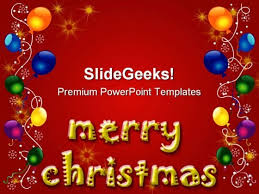christmas background powerpoint templates slides graphics