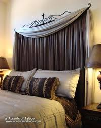 best 25 curtain behind headboard ideas on pinterest curtains