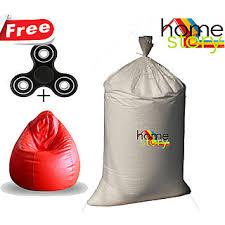 home story 2 kgs premium bean bag refill for a xxl bean bag buy