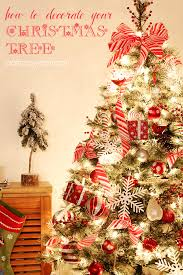 how to decorate your tree tips and tricks that