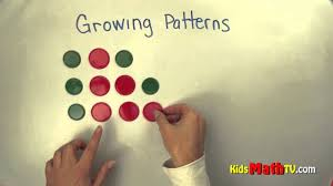learn growing patterns in this math video tutorial kindergarten