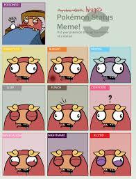 Pokeman Meme - pokemon status meme by hiugo on deviantart