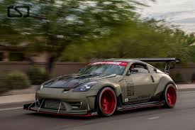 nissan 350z widebody voodoo13 u2013 made in the usa suspension for street drift and road