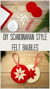 Diy Christmas Decorations Uk Diy Scandinavian Style Christmas Decorations Tea And A Sewing