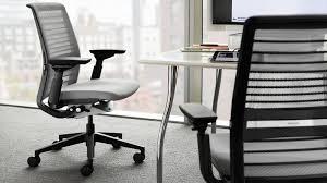 chaise de bureau steelcase think siège de travail intelligent et mobile steelcase
