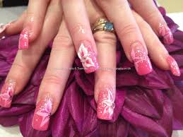 nail art acrylic beautify themselves with sweet nails
