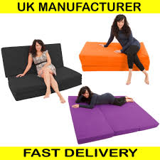 3 Fold Sofa Bed Mattress by Massive 7ft Fold Out Foam Guest Z Sofa Bed Cube Bench Colour