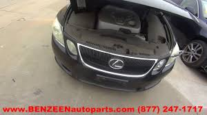 2006 lexus gs300 warranty parting out 2006 lexus gs 300 stock 7141or tls auto recycling