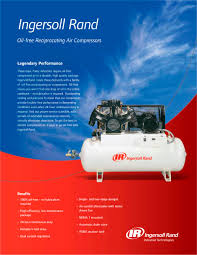 oil free reciprocating air compressors ingersoll rand pdf