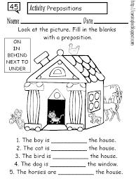 prepositions teaching elementary pinterest prepositions