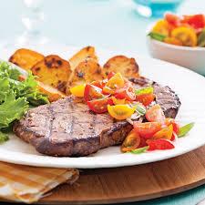 basilic cuisine biftecks au concassé de tomates et basilic recettes cuisine et