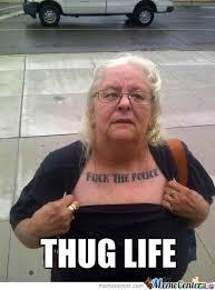 Funny Gangster Meme - gangster granny by makes1703 meme center