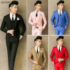 wedding dresses for men three suit men wedding dress 2015 new brand costume homme