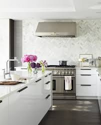 backsplash in kitchen marble tile backsplash kitchen contemporary with ceiling light