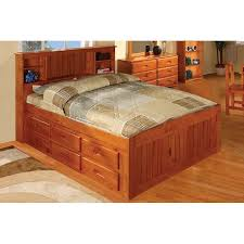 Bed Frame Drawers Honey Captains Bed With 12 Drawers