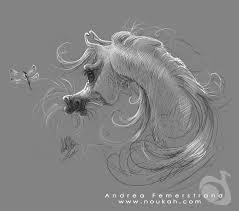 sketch arabian horse by noukah on deviantart