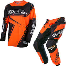 black motocross gear oneal element 2017 racewear motocross jersey u0026 pants black orange