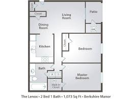 2 bedroom 1 bath floor plans 2 bedroom apartment floor plans pricing berkshire manor