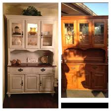 Kitchen China Cabinet Hutch 1990 U0027s China Hutch Makeover This Is Exactly The Cabinet In My