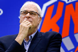 phil jackson decides just to teach knicks the triangle himself