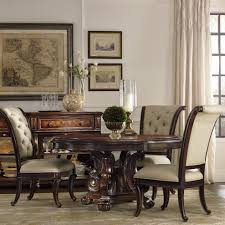 Hooker Dining Room by Expandable Pull Out Computer Desk In Antique Walnut Round Pedestal
